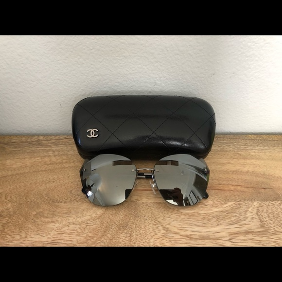 3f7124bf1950 Chanel cat eye sunglasses